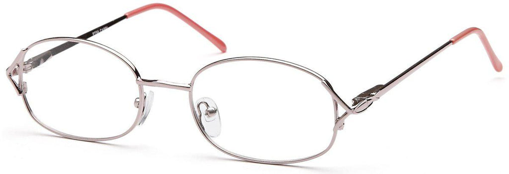 Pink-Classic Oval PT 58 Frame-Prescription Glasses-Eyeglass Factory Outlet