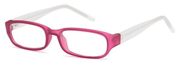 Pink-Modern Oval T 1 Frame-Prescription Glasses-Eyeglass Factory Outlet