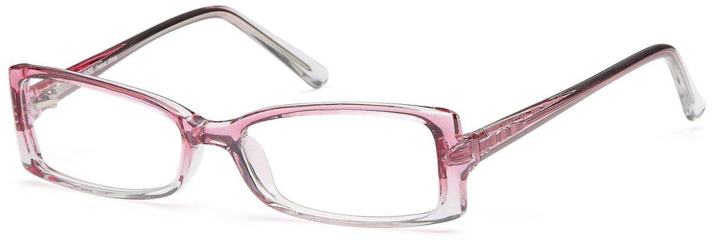 Pink-Modern Rectangular US 58 Frame-Prescription Glasses-Eyeglass Factory Outlet
