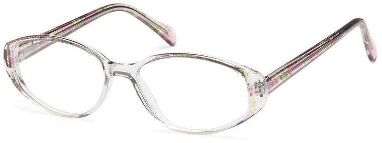pink-UL 91-Prescription Glasses-Eyeglass Factory Outlet