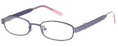 Purple-Modern Oval T 18 Frame-Prescription Glasses-Eyeglass Factory Outlet