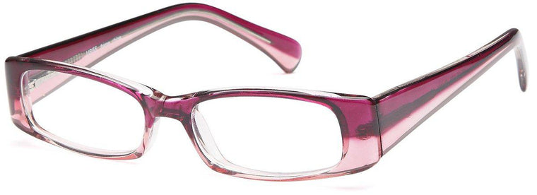 Pink-Modern Rectangular US 55 Frame-Prescription Glasses-Eyeglass Factory Outlet