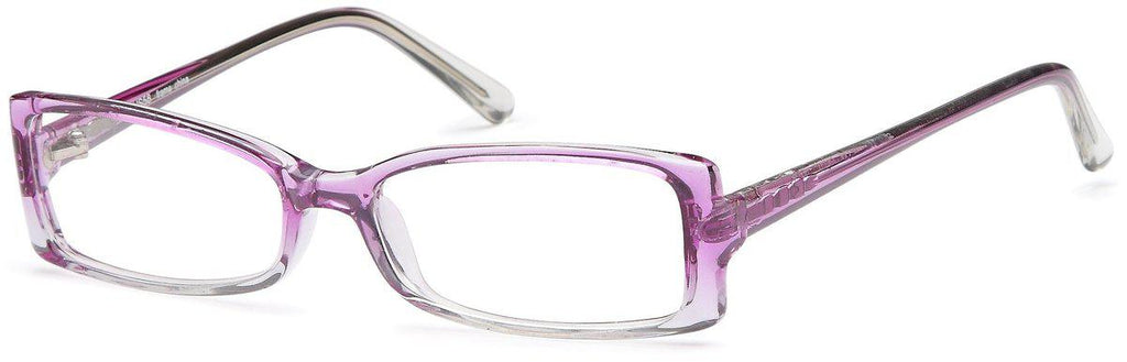 Purple-Modern Rectangular US 58 Frame-Prescription Glasses-Eyeglass Factory Outlet