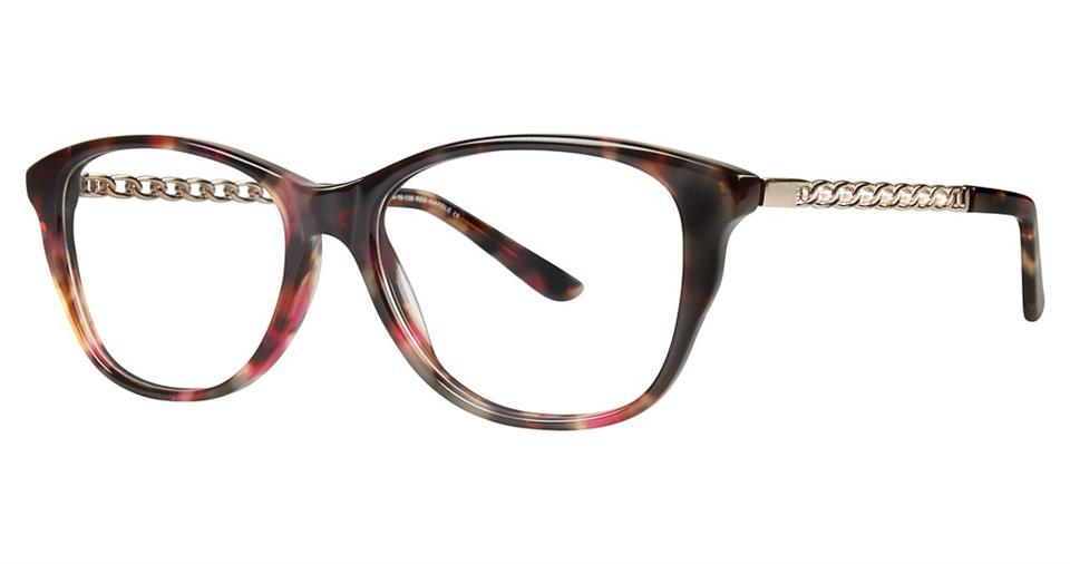 Red-Modern Oval V 4038 Frame-Prescription Glasses-Eyeglass Factory Outlet