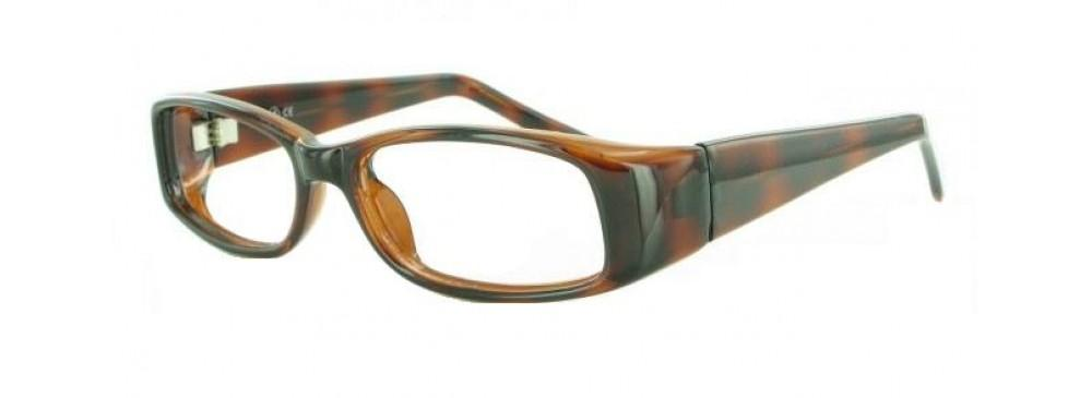 Tortoise-Modern Rectangular Soho 30 Frame-Prescription Glasses-Eyeglass Factory Outlet