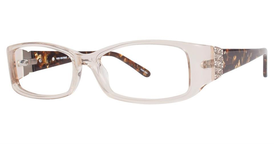 Tortoise-Modern Rectangular V 4018 Frame-Prescription Glasses-Eyeglass Factory Outlet