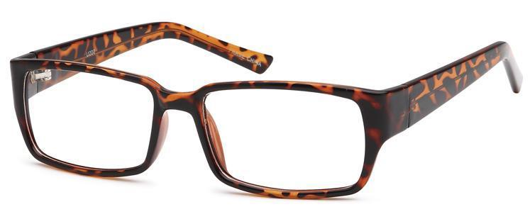 Tortoise-Modern Square U 200 Frame-Prescription Glasses-Eyeglass Factory Outlet