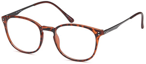 Tortoise-Retro Oval DC 141 Frame-Prescription Glasses-Eyeglass Factory Outlet