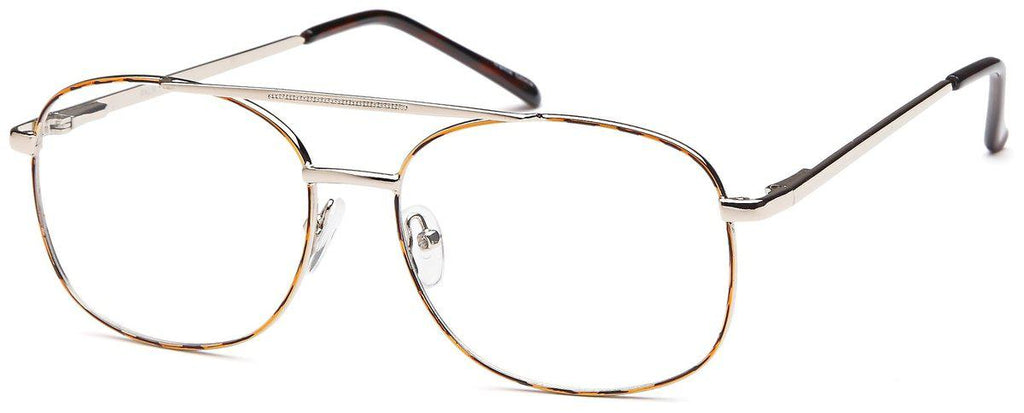 Tortoise/Gold-Classic Aviator Palm Frame-Prescription Glasses-Eyeglass Factory Outlet