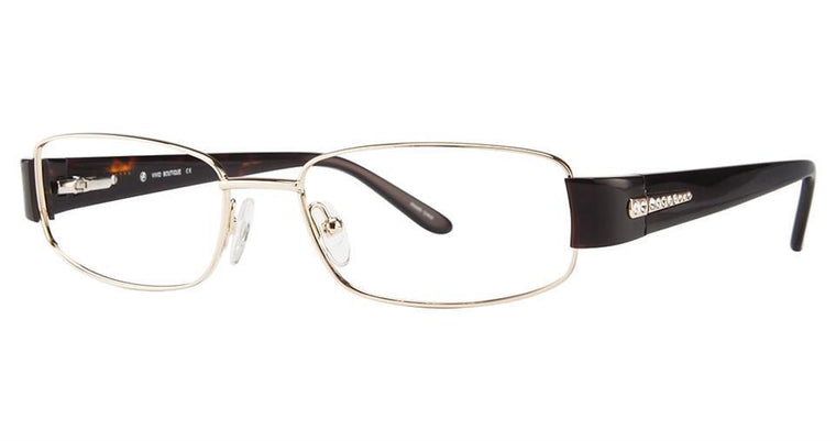 Tortoise/Gold-Classic Oval V 5007 Frame-Prescription Glasses-Eyeglass Factory Outlet