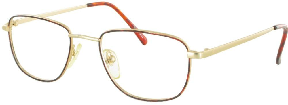 Tortoise/Gold-Classic Square 365 Frame-Prescription Glasses-Eyeglass Factory Outlet