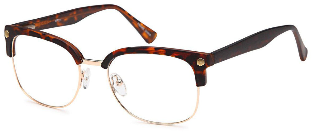 Tortoise/Gold-Club Master VP 131 Frame-Prescription Glasses-Eyeglass Factory Outlet