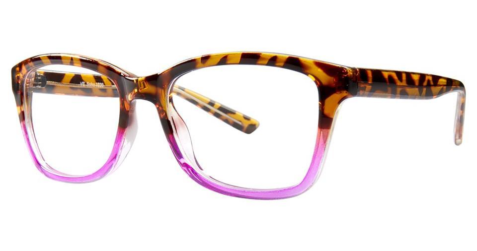 Tortoise/Pink-Modern Square Soho 1030 Frame-Prescription Glasses-Eyeglass Factory Outlet