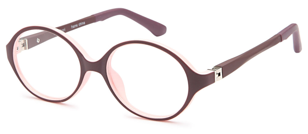 Wine-Modern Round T 29 Frame-Prescription Glasses-Eyeglass Factory Outlet
