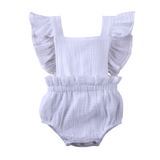 Baby Girl Romper + Headband