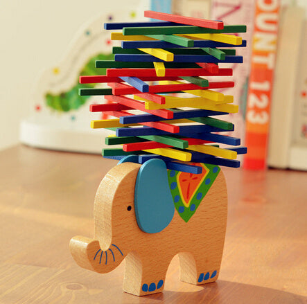 Elephant/Camel Balance Wood Toy