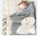 Rabbit Stroller Blanket