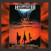 HALLOWEEN III Expanded 25th Anniversary CD-Original Soundtrack Recording