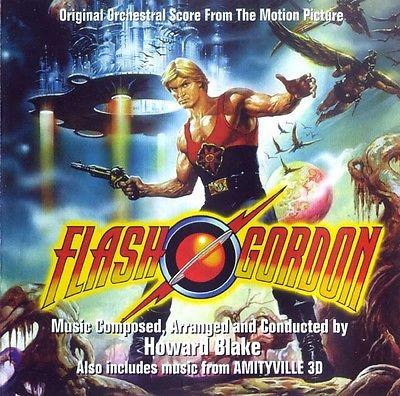 FLASH GORDON (Score) /AMITYVILLE 3D  - Original Soundtracks by Howard Blake