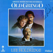 OLD GRINGO - Original Soundtrack by Lee Holdridge (LP-Autographed by composer)