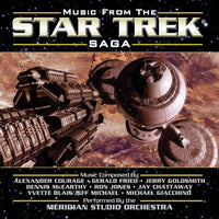 MUSIC FROM THE STAR TREK SAGA: VOL. 1 - (CD comes with Free Digital Download/Digital booklet)