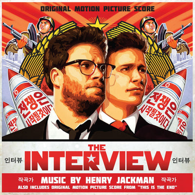 THE INTERVIEW / THIS IS THE END: Original Soundtracks by Henry Jackman
