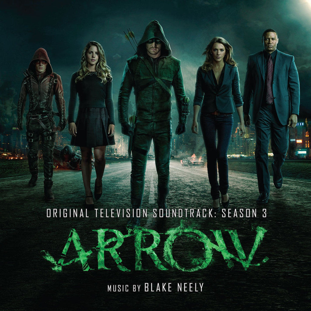 ARROW Season 3 - Original Soundtrack Recording by Blake Neely (2 CD SET)