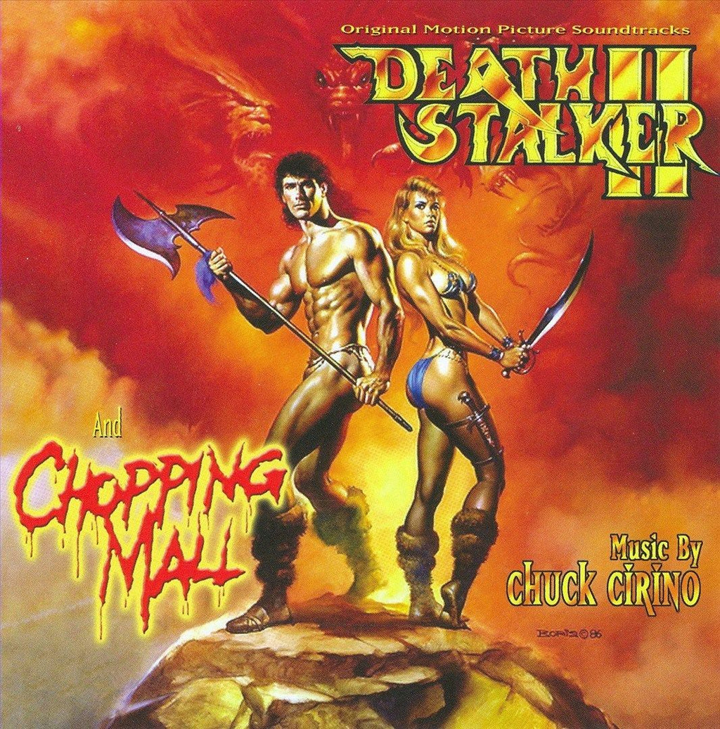 DEATHSTALKER 2/CHOPPING MALL - Original Soundtracks by Chuck Cirino