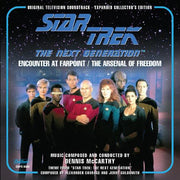 "STAR TREK: THE NEXT GENERATION - ""Encounter At Farpoint"" / ""The Arsenal of Freedom"""