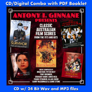 ANTONY I. GINNANE PRESENTS CLASSIC AUSTRALIAN FILM SCORES -Original Soundtracks by Various Artists (CD comes with Free Digital Download/Digital booklet)