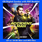 ACCIDENT MAN - Original Soundtrack by Sean Murray (CD comes with Free 24/44.1khz/MP3/Digital booklet exclusive bundle)