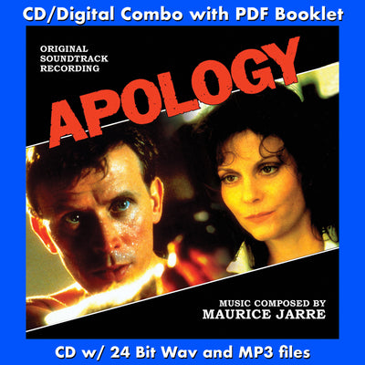 APOLOGY - Original Soundtrack by Maurice Jarre (CD comes with Free 24/44.1khz/MP3/Digital booklet exclusive bundle)