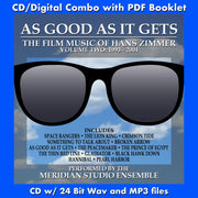 AS GOOD AS IT GETS-Film Music of Hans Zimmer Vol. 2 (W/Free Digital Download/Digital booklet)