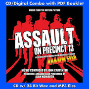 ASSAULT ON PRECINCT 13 / DARK STAR - Original Scores (W/Free Digital Download/Digital booklet)