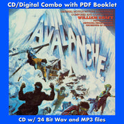 AVALANCHE - Original Soundtrack by William Kraft (CD comes with Free Digital Download/Digital booklet)