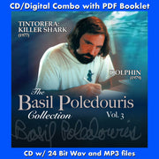 BASIL POLEDOURIS COLLECTION VOL 3,-Tintorera / Dolphin (w/Free Digital Download/Digital booklet)