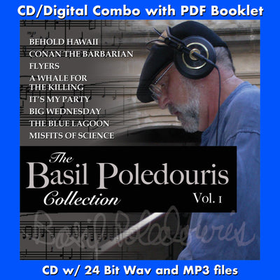 BASIL POLEDOURIS COLLECTION, THE: VOL. 1 (CD comes with Free Digital Download/Digital booklet)