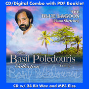 BASIL POLEDOURIS COLLECTION: VOL. 4-BLUE LAGOON: PIANO SKETCHES (W/Free Digital Download/booklet)