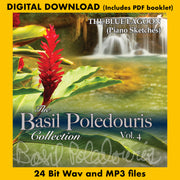 THE BASIL POLEDOURIS COLLECTION: VOL. 4 - BLUE LAGOON: PIANO SKETCHES (Digital Download - 24 Bit Wav, MP3, Digital PDF booklet)