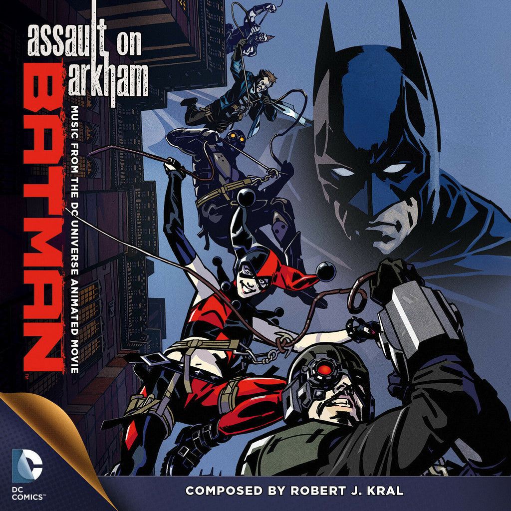 BATMAN: ASSUALT ON ARKHAM-Original Soundtrack by Robert J. Kral