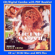 BIG BAD MAMA II - Original Soundtrack by Chuck Cirino (CD comes with Free Digital Download/Digital booklet)