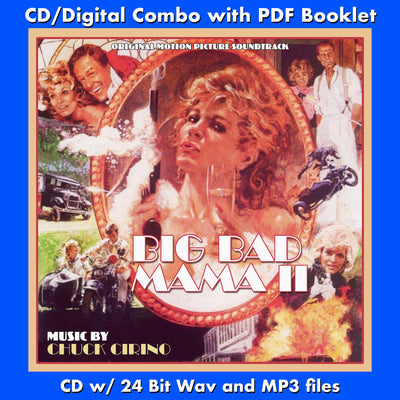 BIG BAD MAMA II - Original Soundtrack by Chuck Cirino