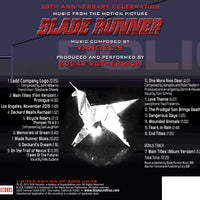BLADE RUNNER: A 30th ANNIVERSARY CELEBRATION - (W/Free Digital Download/Digital booklet)