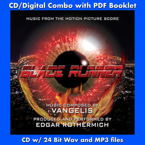 BLADE RUNNER - Music From the Motion Picture by Vangelis (CD comes with Free Digital Download/Digital booklet)
