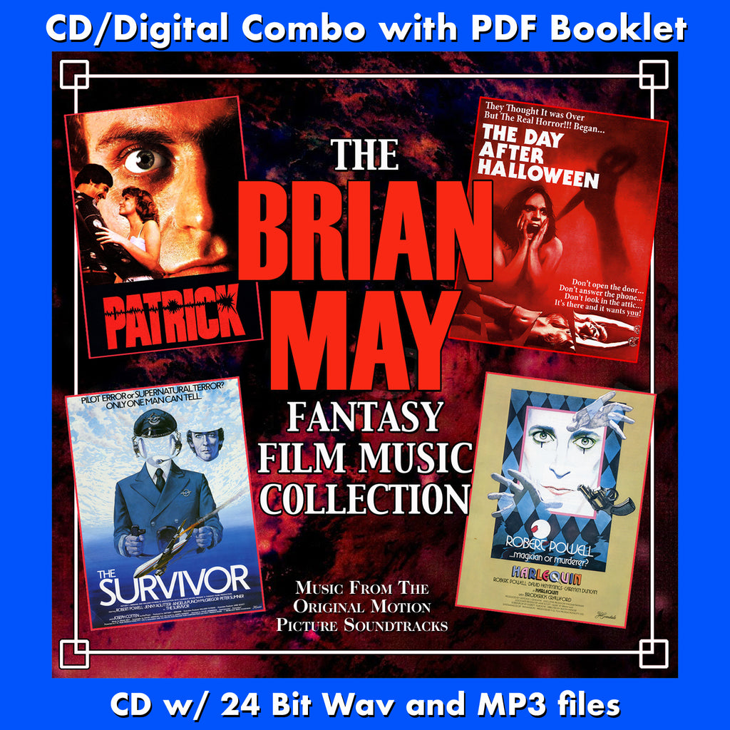 BRIAN MAY FANTASY FILM MUSIC COLLECTION, THE - Original Soundtracks by Brian May (CD comes with Free Digital Download/Digital booklet)
