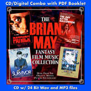BRIAN MAY FANTASY FILM MUSIC COLLECTION, THE - Original Soundtrack by Brian May (CD comes with Free Digital Download/Digital booklet)