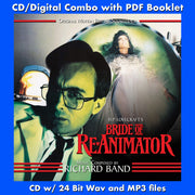 BRIDE OF RE-ANIMATOR - Original Soundtrack (CD comes with Free Digital Download/Digital booklet)