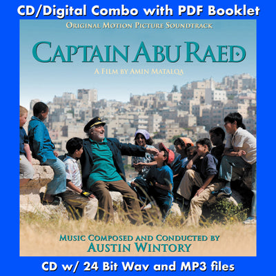 CAPTAIN ABU RAED - Original Soundtrack  (CD comes with Free Digital DownlaodDigital booklet)