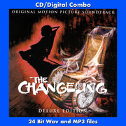 THE CHANGELING - Original Soundtrack by Ken Wannberg and Rick Wilkins (2-CD Set)  (CD comes with Free 24/44.1khz/MP3 exclusive bundle)