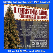 A CHRISTMAS CAROL: CHRISTMAS AT THE CINEMA - (CD comes with Free Digital Download/Digital booklet)